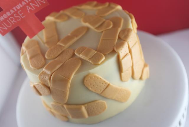 bandaid cake