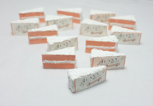 AJM cake business card