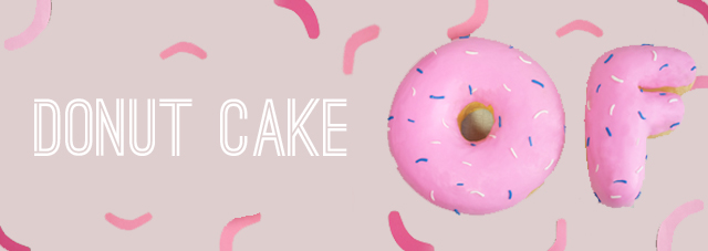 1year-donut cake