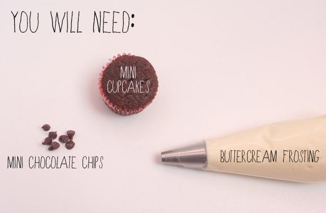 ghost cupcake materials
