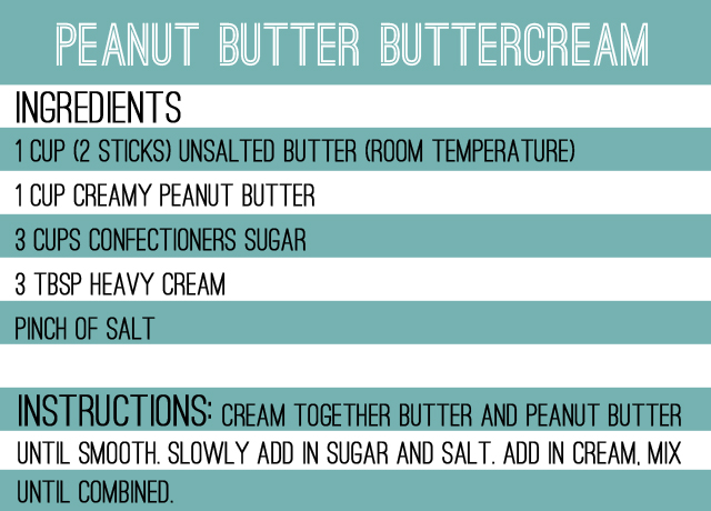pb buttercream