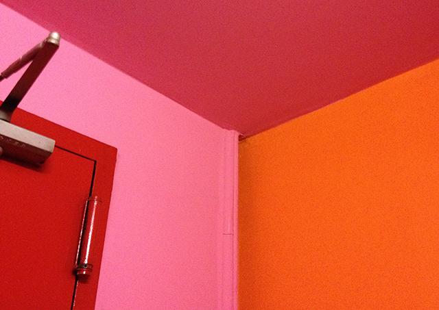 red orange pink