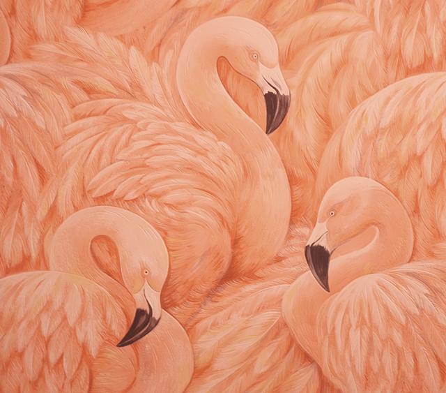 flamingo wallpaper_details
