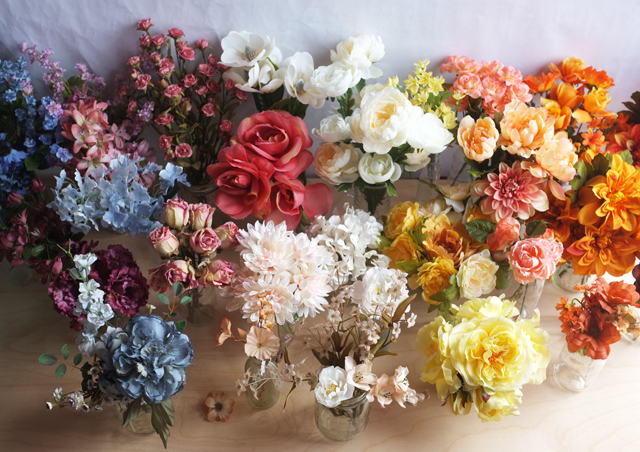 Silk Flowers1