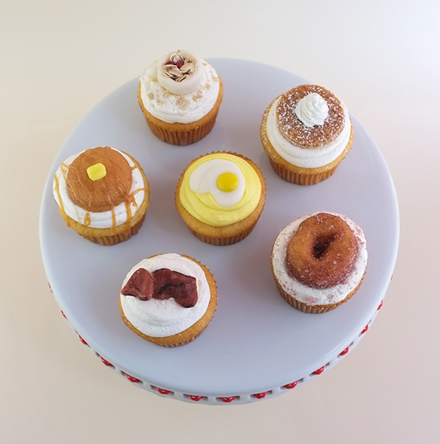 DIY: Breakfast Cupcakes