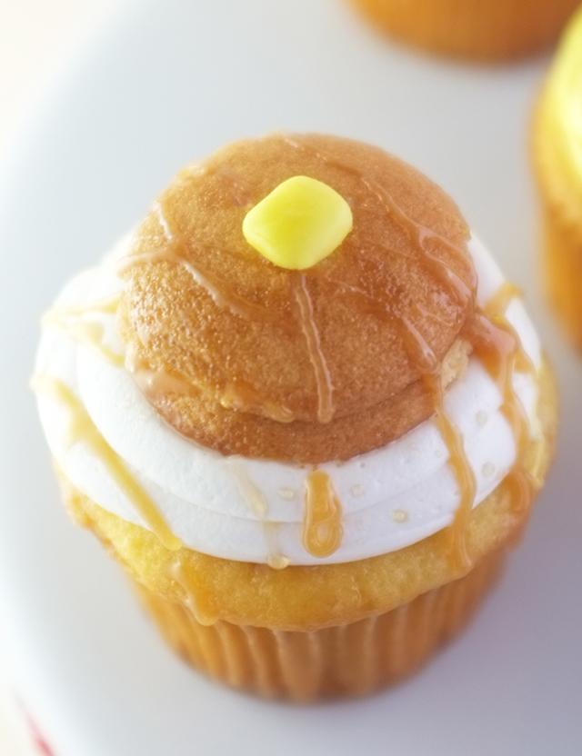 Breakfast Cupcakes_Pancake