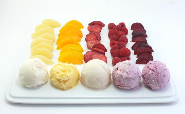DIY Fruit Ice Cream
