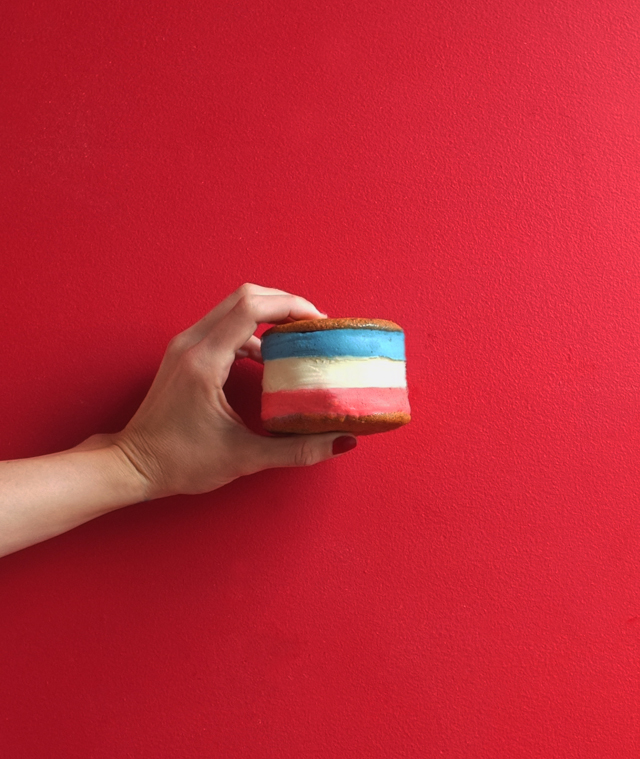 Diy patriotic ice cream alana jones mann for Where can i find blue bell christmas cookie ice cream