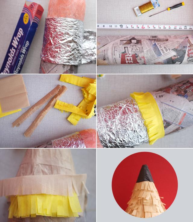 Pencil Pinata DIY2