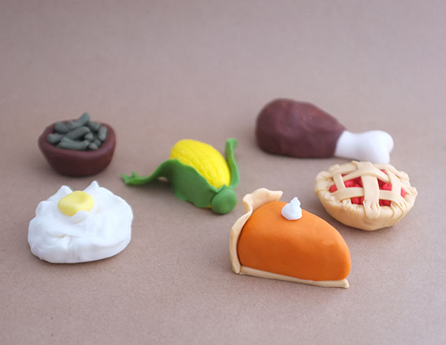 Thanksgiving Cake Toppers