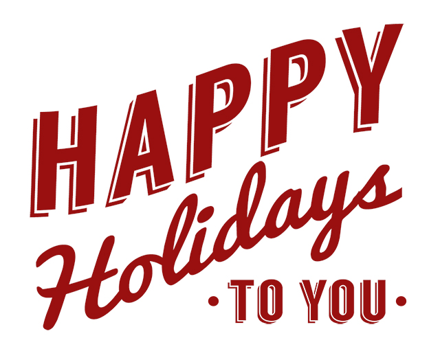 Happy Holidays To You Font