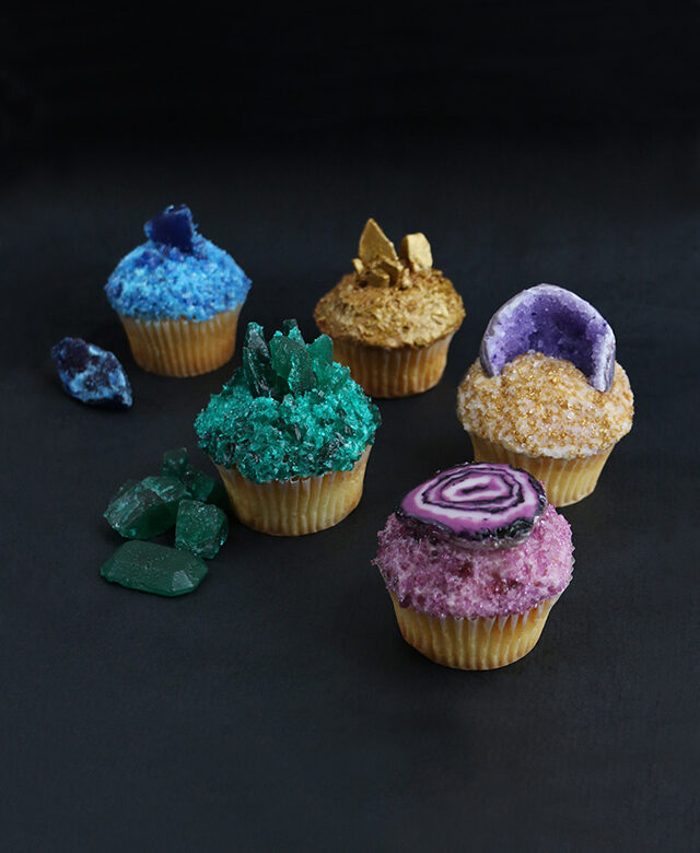 Diy gemstone cupcakes alana jones mann baked goods diy desserts diy projects solutioingenieria Choice Image