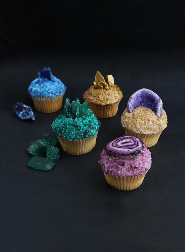 AJM Gemstone Cupcakes