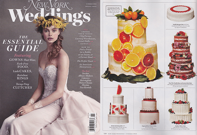 NY Magazine Weddings Issue