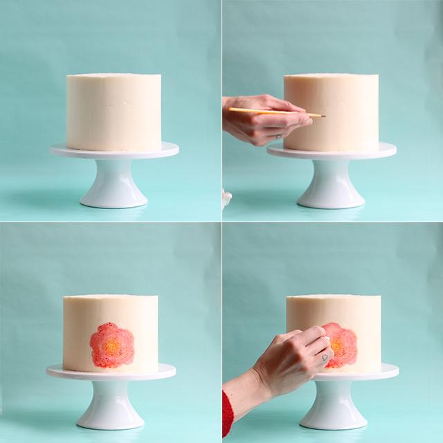 Painting Cake DIY