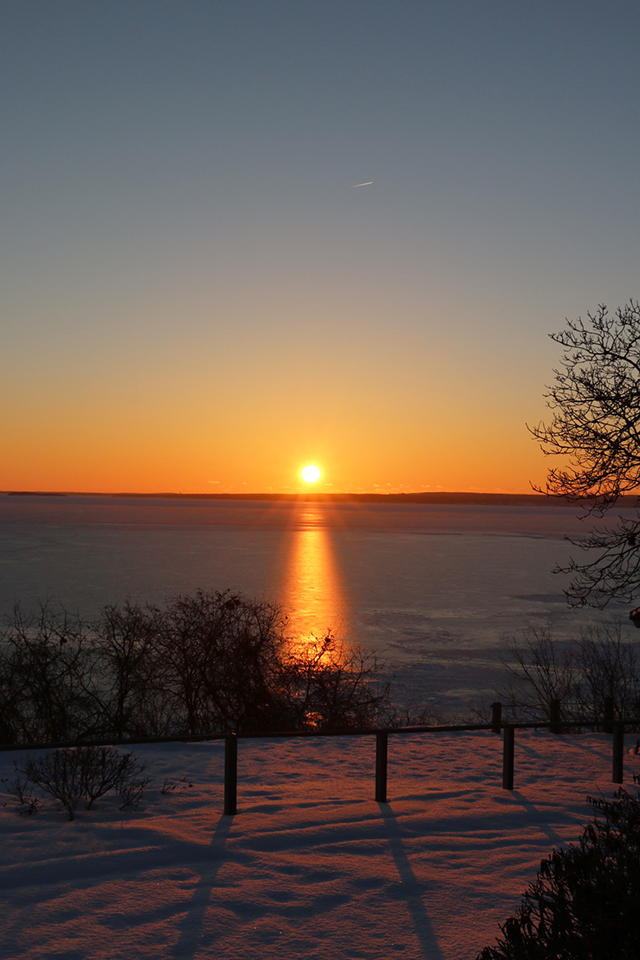 Sunrise Over Peconic Bay