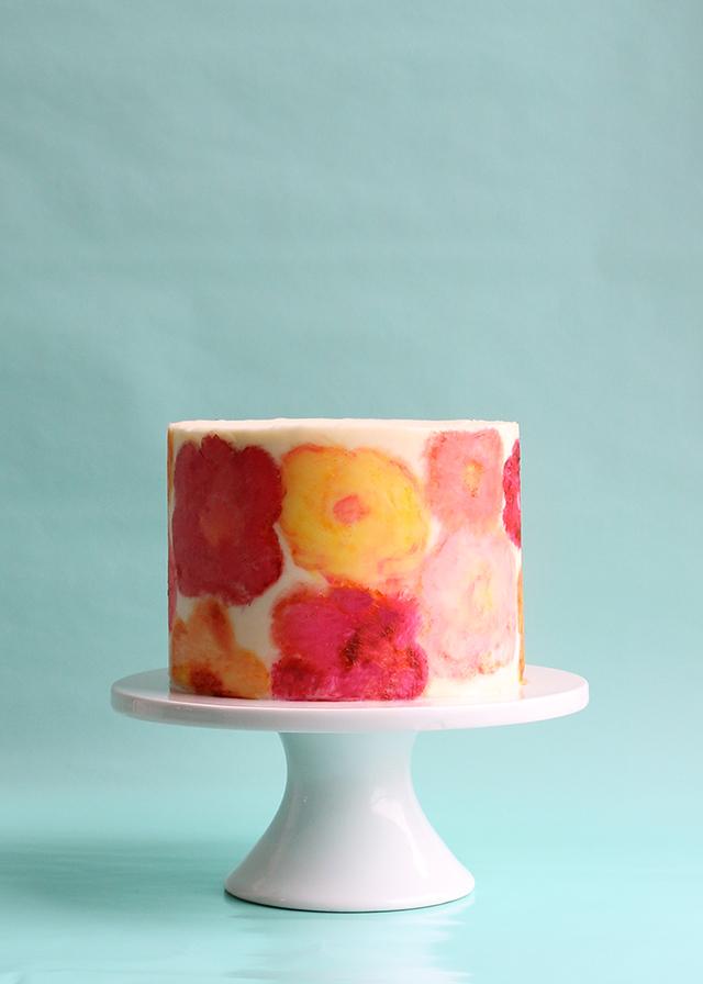 Cake Art Techniques : DIY: Cake Painting   Alana Jones-Mann