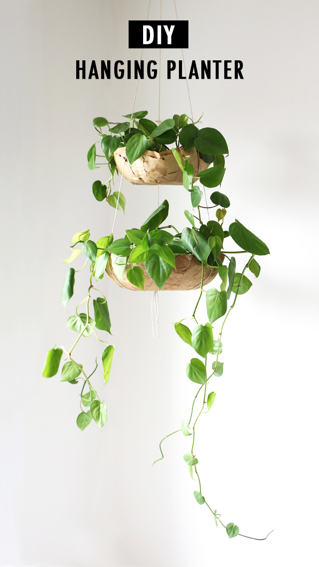 diy hanging planter tutoria - Diy Hanging Planter