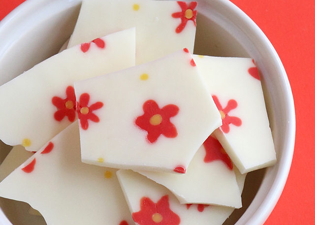 Flower Chocolate Bark 3