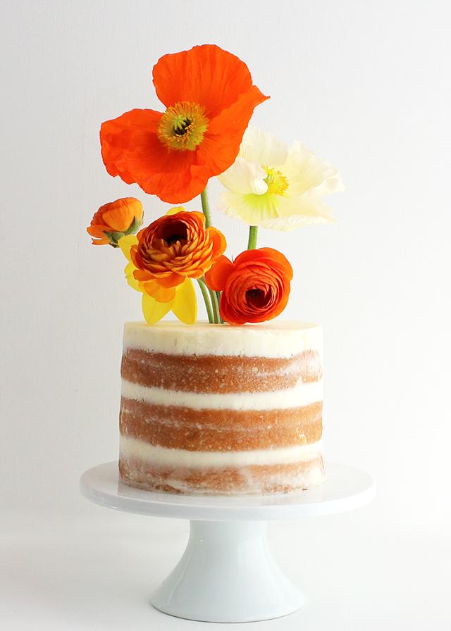 Flower Vase Cakes