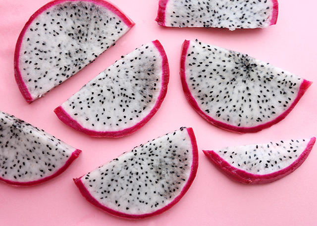 Dragonfruit Slices