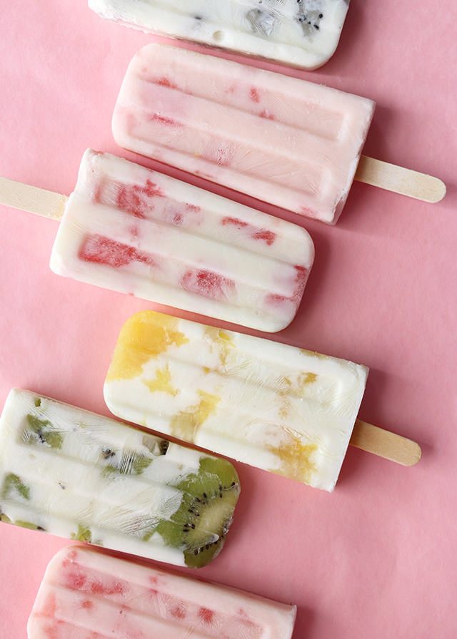 Fruit Yogurt Popsicles 2