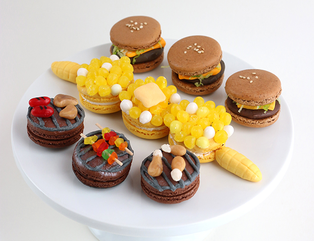 DIY: Summer BBQ Macarons – Alana Jones-Mann