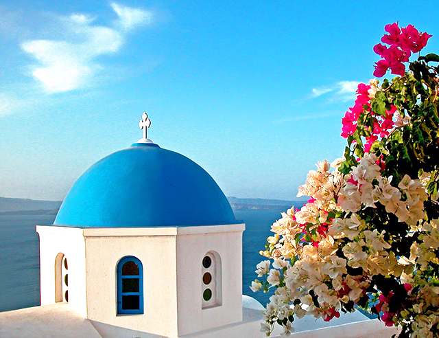 Greece Blue Dome