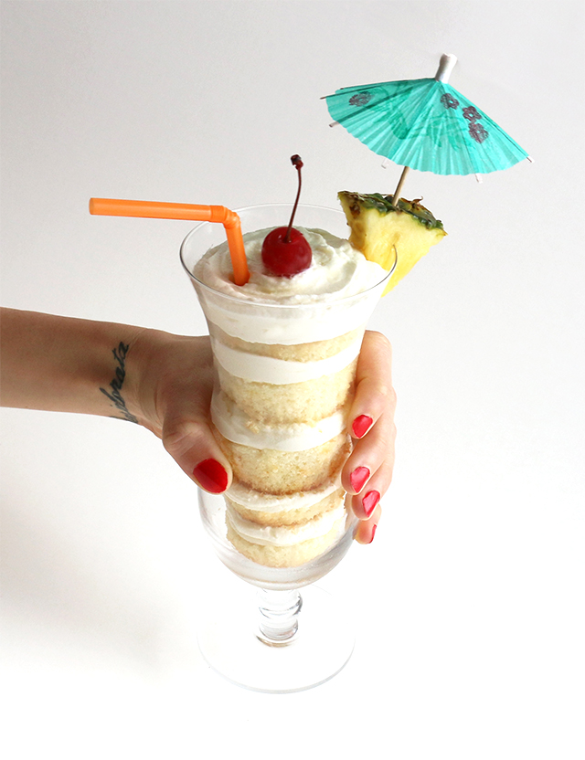 Tropical Cake Cup 2