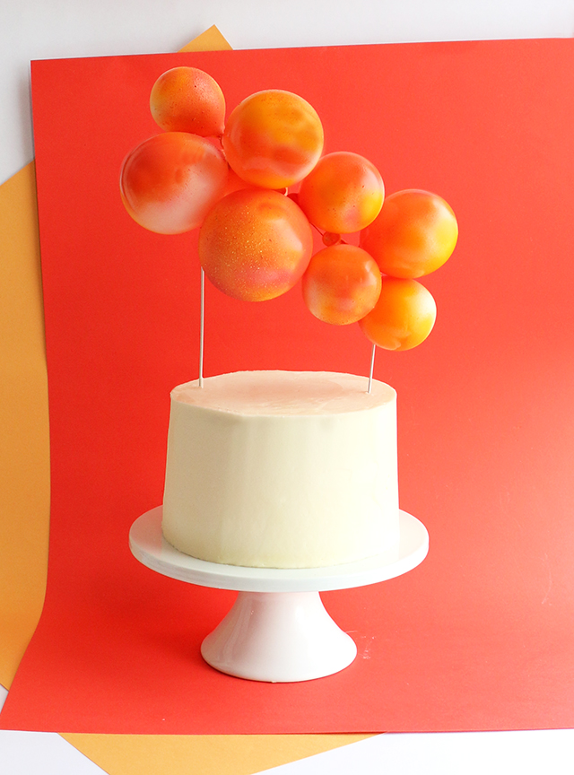 Balloon Topper Orange