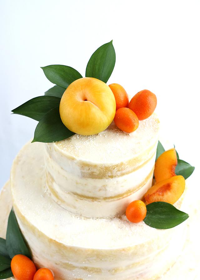 Citrus Naked Cake