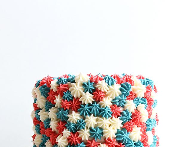 July Fourth Cake