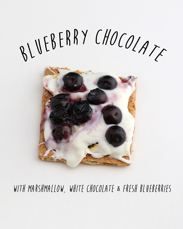 Blueberry Chocolate Smore