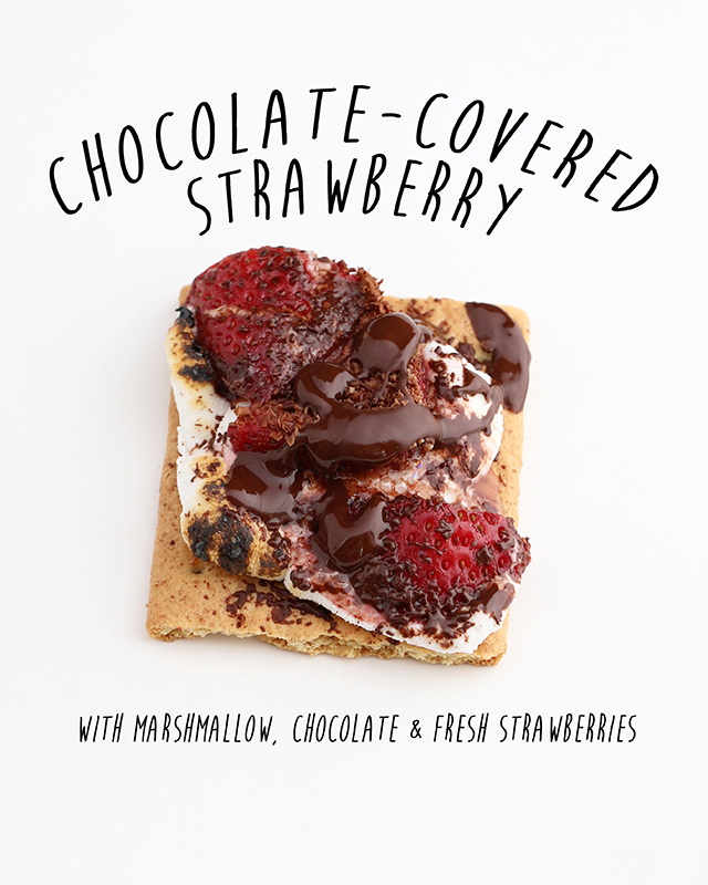 Chocolate Covered Strawberry Smore