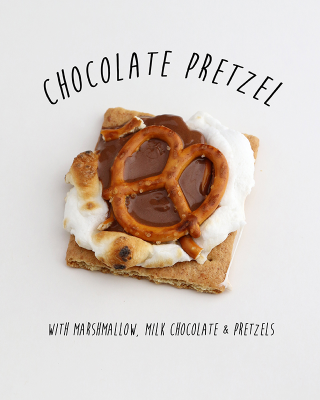 Chocolate Pretzel Smore