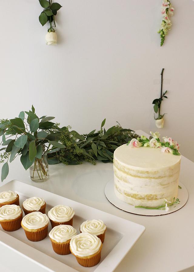 Modern Naked Cake