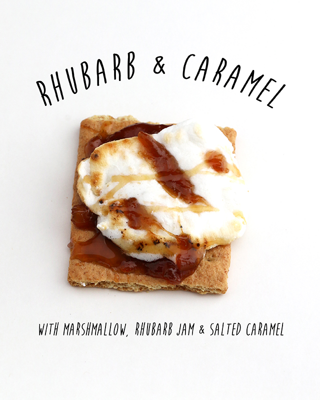 Rhubarb and Caramel