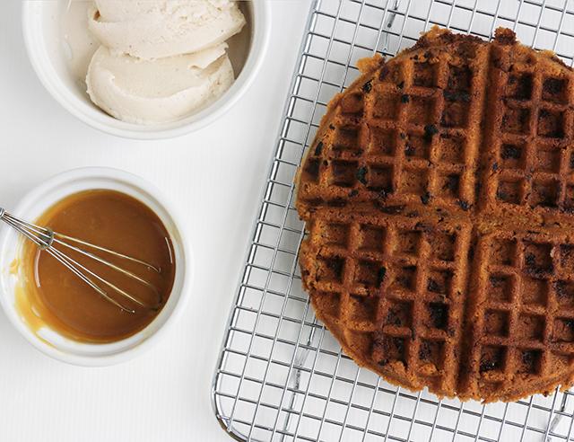 DIY Cookie Waffle