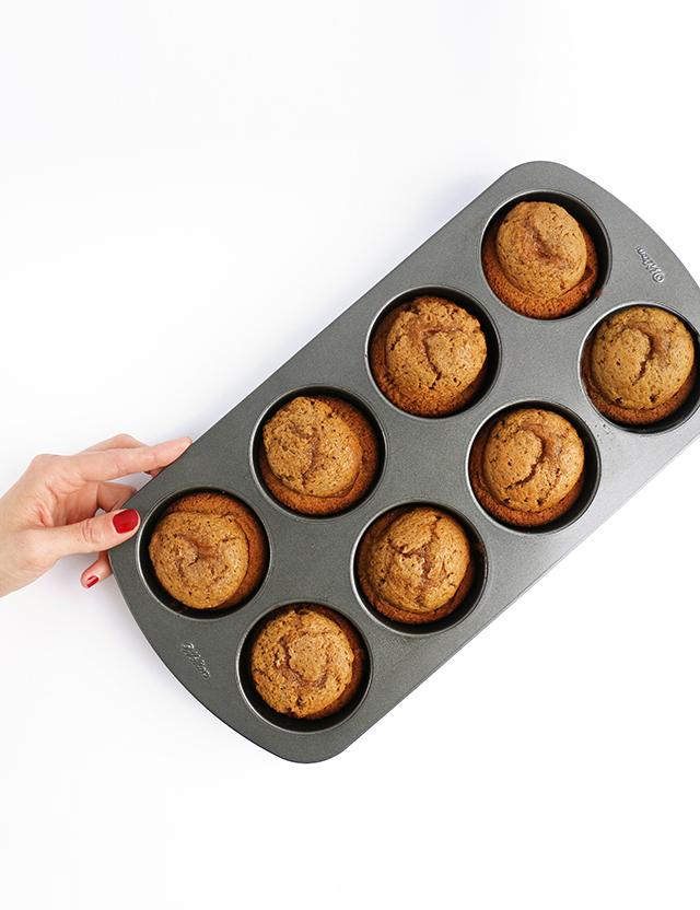 Pumpkin Muffin Tin