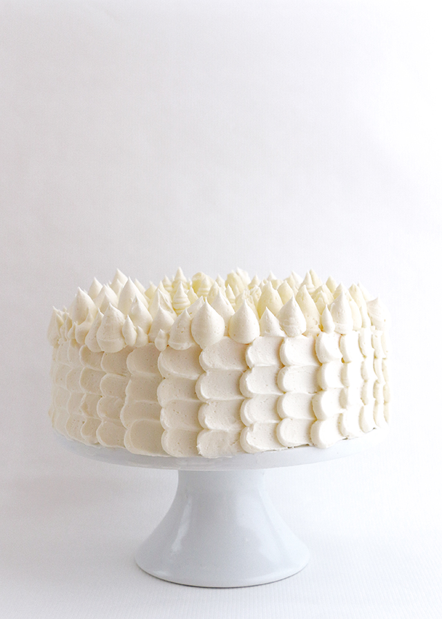 Holiday Buttercream Cake