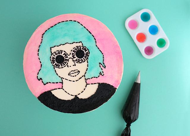 Mod Girl Cake