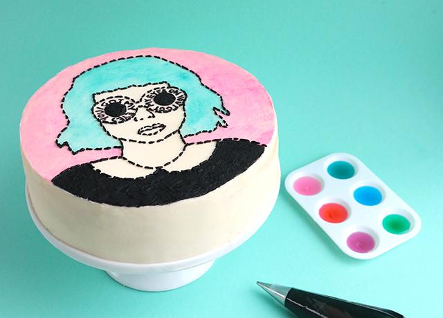 Sunglass Cake