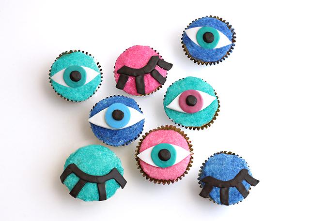 Wink Eye Cupcakes