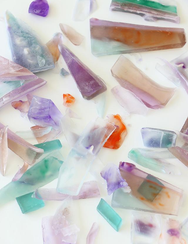 DIY Stone Soap Scraps