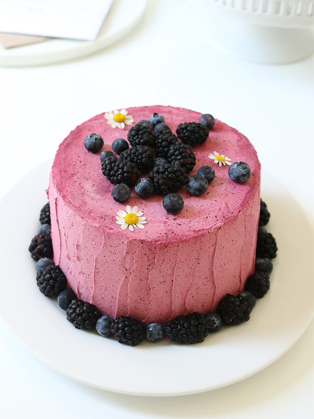 Blueberry Buttercream
