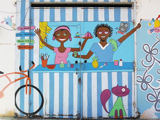 curacao mural