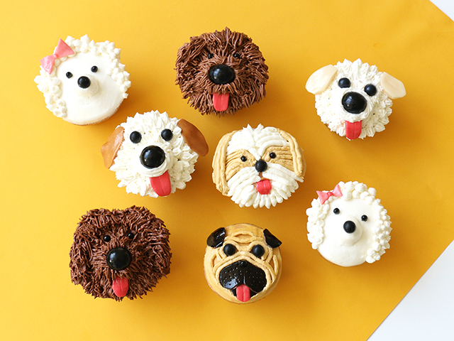 Adorable Dog Cupcakes