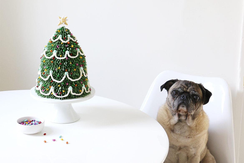 DIY: Christmas Tree Cake – Alana Jones-Mann