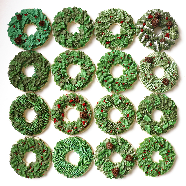 cookie-wreaths_640